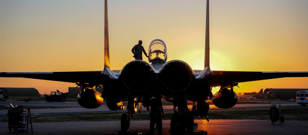 Excelitas provides power supply avionics and sensor technologies for the McDonnell Douglas F-15 Eagle