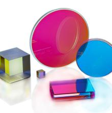 Laser crystal coated optics