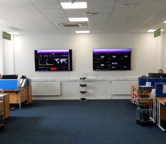 Excelitas Through-Life Support control center, St. Asaph, UK