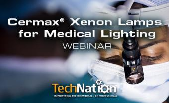 Cermax Xenon Lamps for Medical Lighting Webinar
