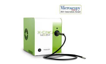 Excelitas X-Cite NOVEM LED Illumination System Wins Microscopy Today Innovation Award