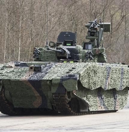 Ajax Armored Fighting Vehicle incorporates Excelitas DVE Optronics