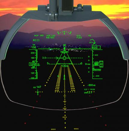 ProductPhoto_DO_Rafale-HUD_freeuse5.jpg - Prominent view of Dassault Rafale HUD