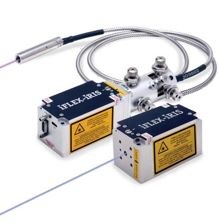 iFLEX-iRIS Compact Lasers for Free-Space or Fiber-Coupled Delivery