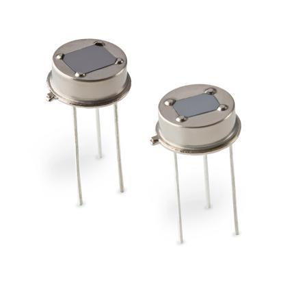 Excelitas Low-Profile, Dual-Element Pyrodetector Series (PYD 1384 / PYD 1394)