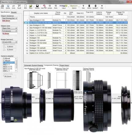 FREE MachVis Lens Configuration Software streamlines your LINOS and Optem Lens specifying process and ensures the optimal solution for your application.