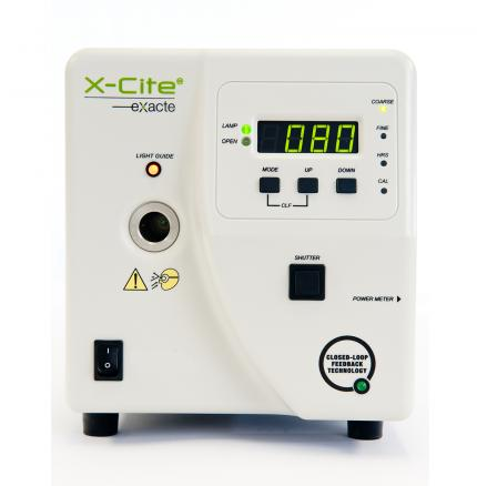 X-Cite exacte ultra-stable fluorescence lamp system