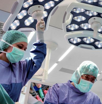 Excelitas Custom Medical LED Solutions for Surgical Lighting