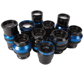 LINOS Inspec.x Lenses are available in a wide variety of Series to meet your specific area- and line-scan imaging needs