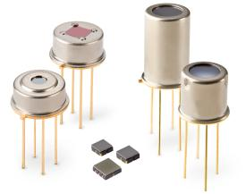 Excelitas high-sensitivity Thermopile Detectors are available in TO-46, TO-5, TO-59 and compact SMD housings to meet a wide array integrations and applications