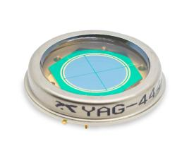 Excelitas YAG quadrants are available in variable active diameters and polarity.