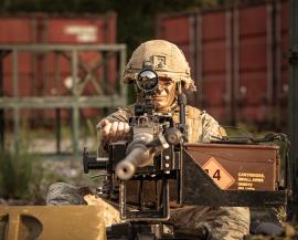 Excelitas Heavy Machine Gun Sights for Dismounted Soldier Equipment