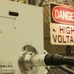 X-ray power supply under test